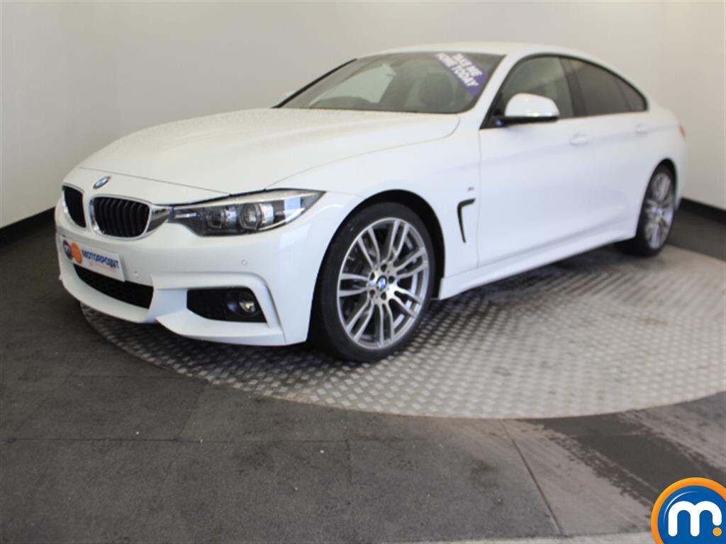 BMW 4 Series M Sport - Stock Number 1048965 Passenger side front corner