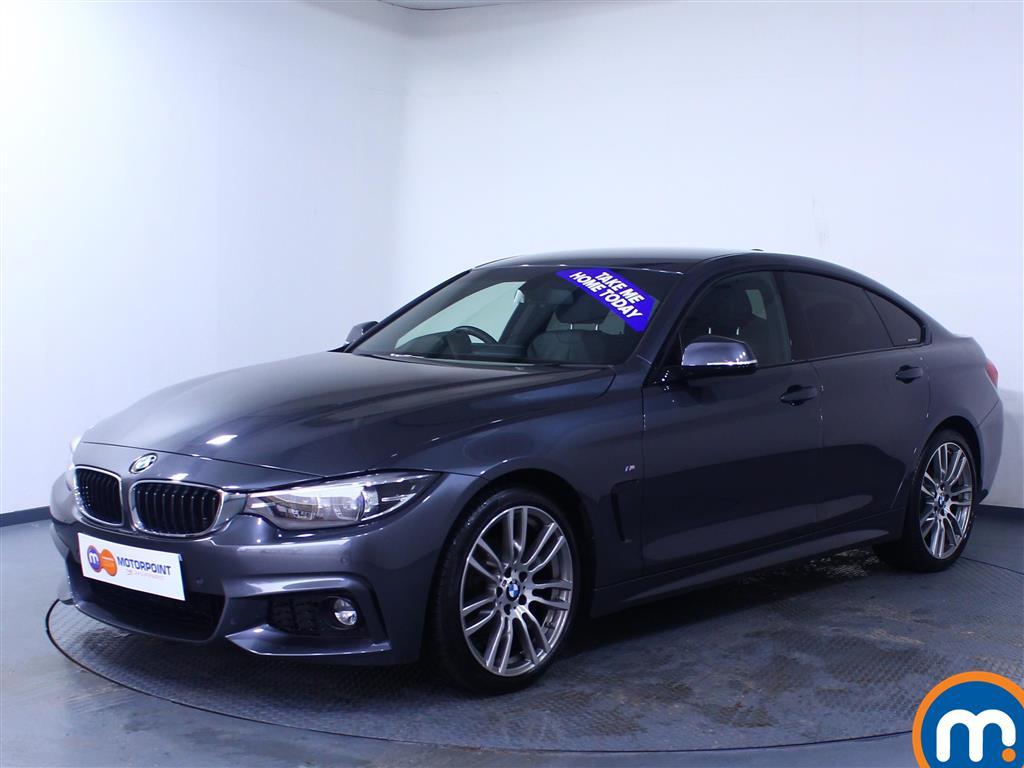 BMW 4 Series M Sport - Stock Number 1050076 Passenger side front corner