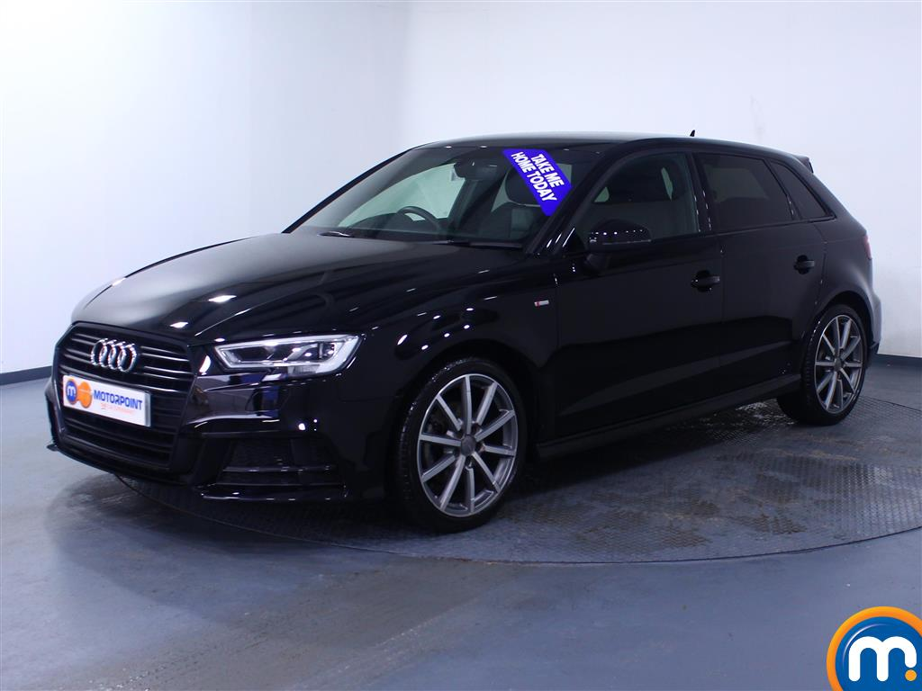 Audi A3 Black Edition - Stock Number 1048616 Passenger side front corner