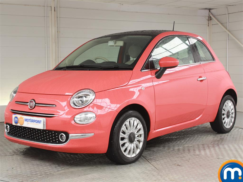 Fiat 500 Lounge - Stock Number 1048144 Passenger side front corner