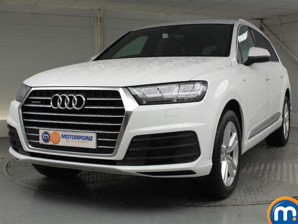 Audi Q7 S Line - Stock Number 1048512 Passenger side front corner