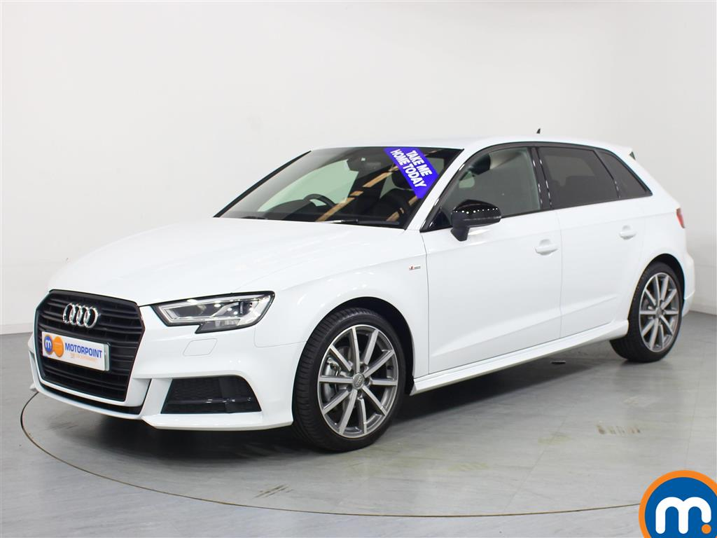 Audi A3 Black Edition - Stock Number 1048629 Passenger side front corner