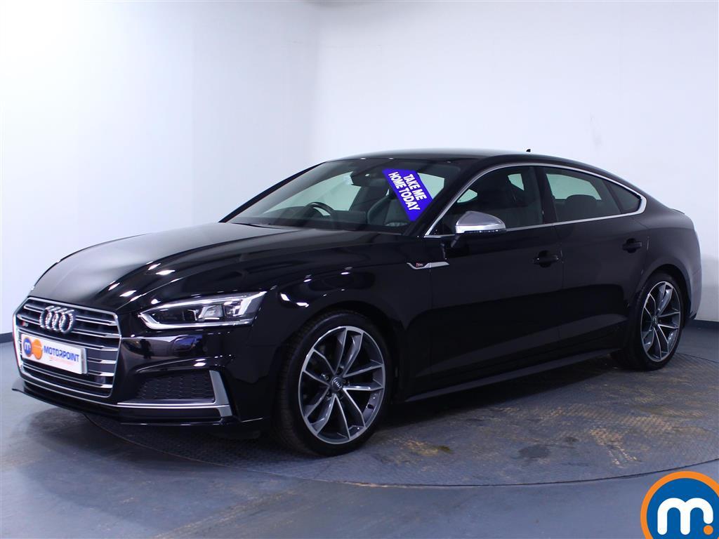 Audi A5 S5 - Stock Number 1050705 Passenger side front corner