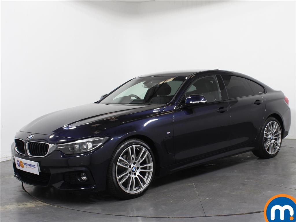 BMW 4 Series M Sport - Stock Number 1050183 Passenger side front corner