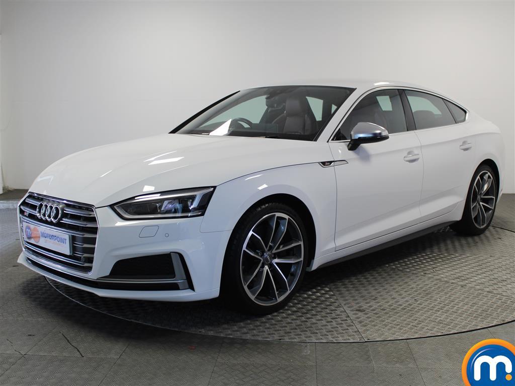 Audi A5 S5 - Stock Number 1050688 Passenger side front corner