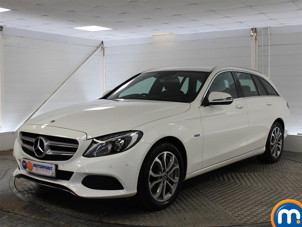 Mercedes-Benz C Class Sport - Stock Number 1043799 Passenger side front corner