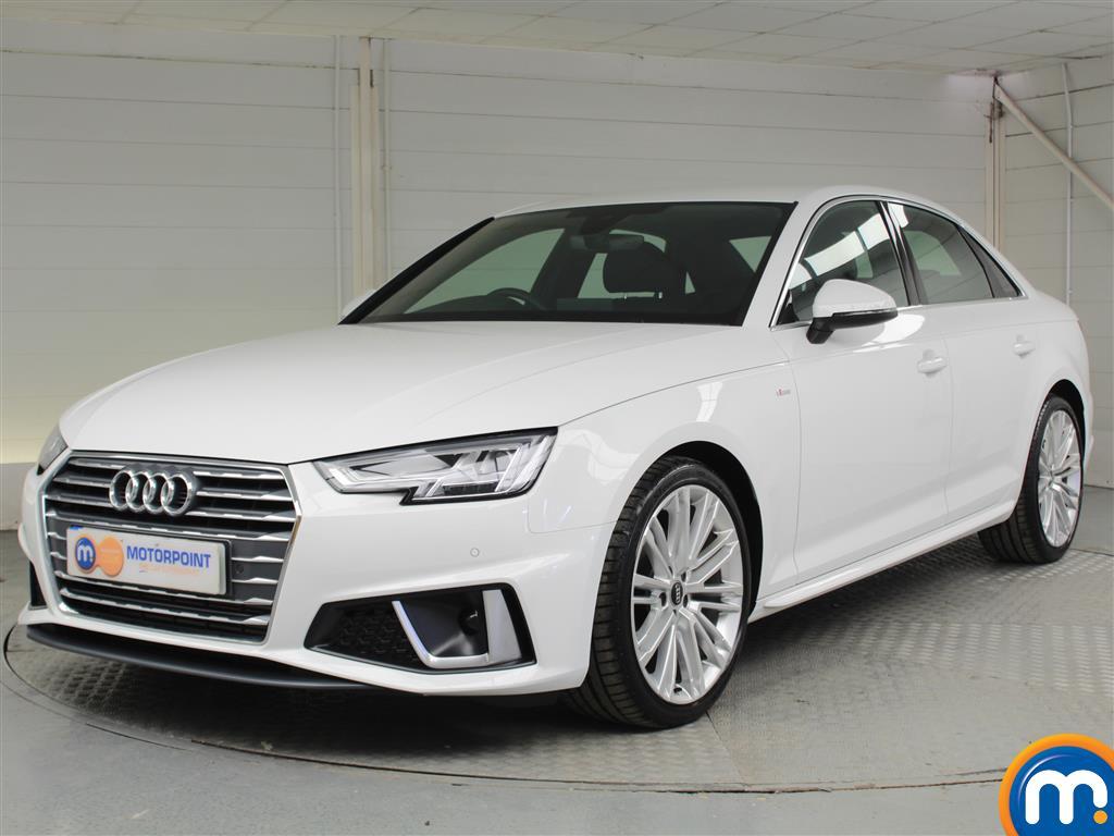 Audi A4 S Line - Stock Number 1048658 Passenger side front corner