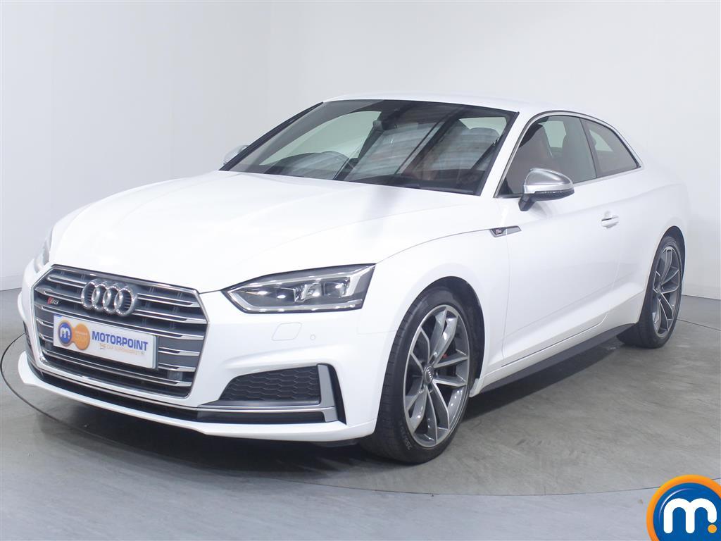 Audi A5 S5 - Stock Number 1040272 Passenger side front corner