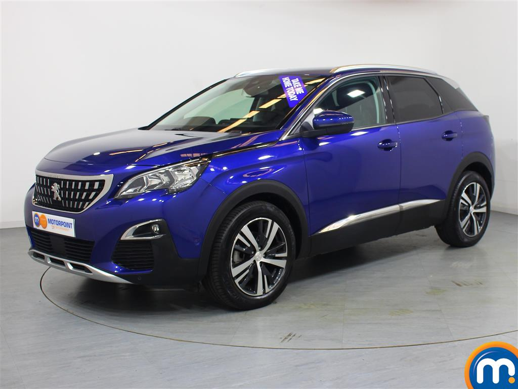Peugeot 3008 Allure - Stock Number 1050290 Passenger side front corner