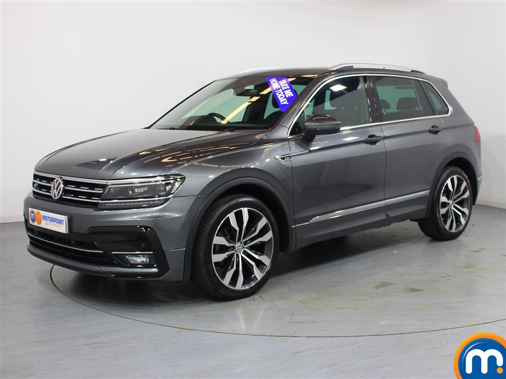Volkswagen Tiguan R Line - Stock Number 1043777 Passenger side front corner