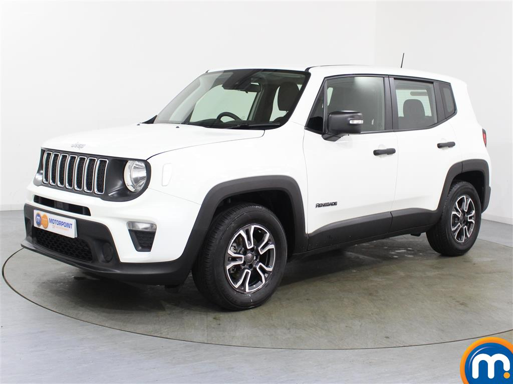 Jeep Renegade Sport - Stock Number 1044676 Passenger side front corner