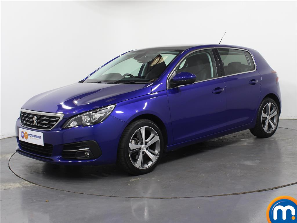 Peugeot 308 Allure - Stock Number 1048800 Passenger side front corner