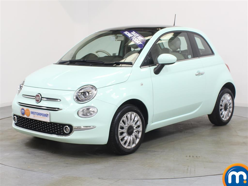 Fiat 500 Lounge - Stock Number 1048134 Passenger side front corner