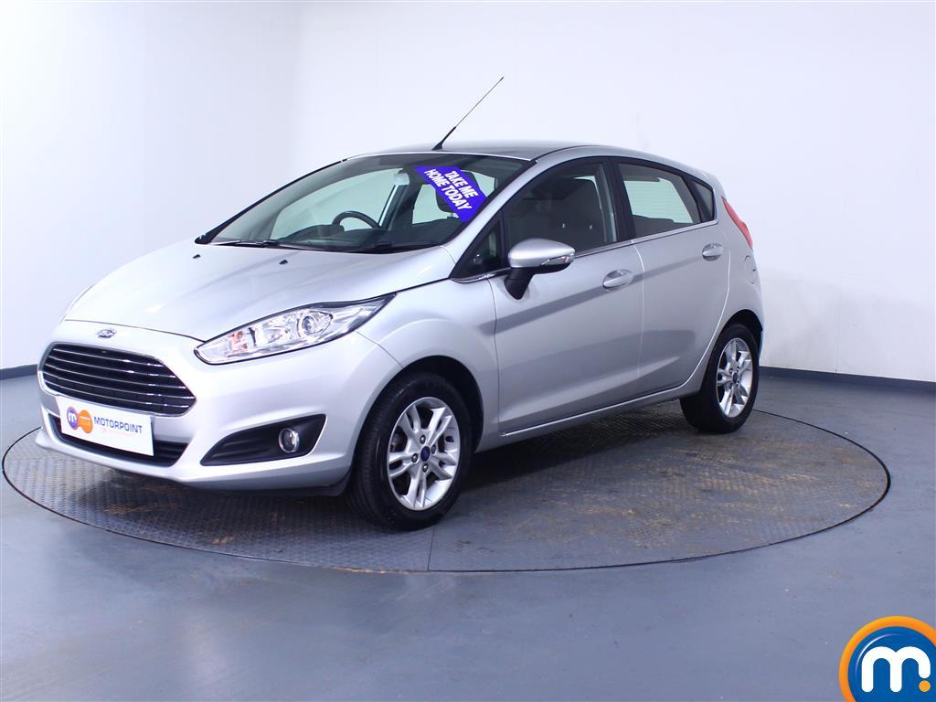 Ford Fiesta Zetec - Stock Number 1049067 Passenger side front corner