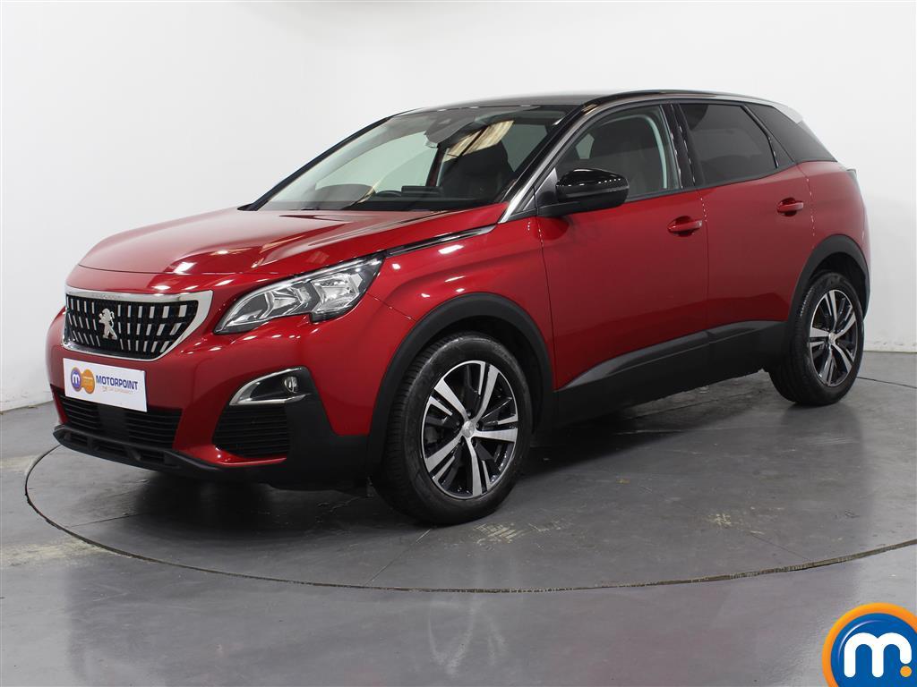 Peugeot 3008 Active - Stock Number 1050379 Passenger side front corner
