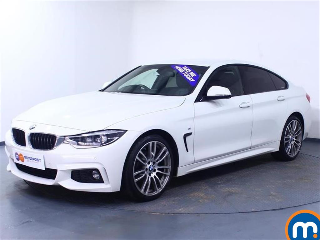 BMW 4 Series M Sport - Stock Number 1049963 Passenger side front corner