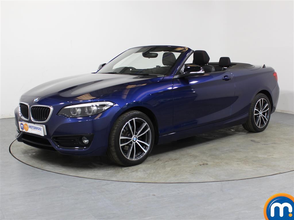 BMW 2 Series Sport - Stock Number 1046494 Passenger side front corner