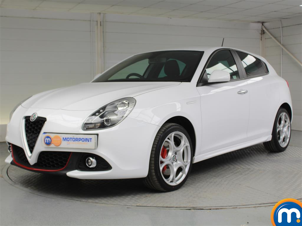 Alfa Romeo Giulietta Sport - Stock Number 1050225 Passenger side front corner