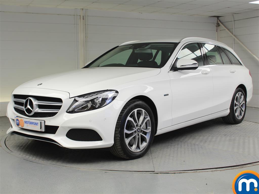 Mercedes-Benz C Class Sport - Stock Number 1049145 Passenger side front corner
