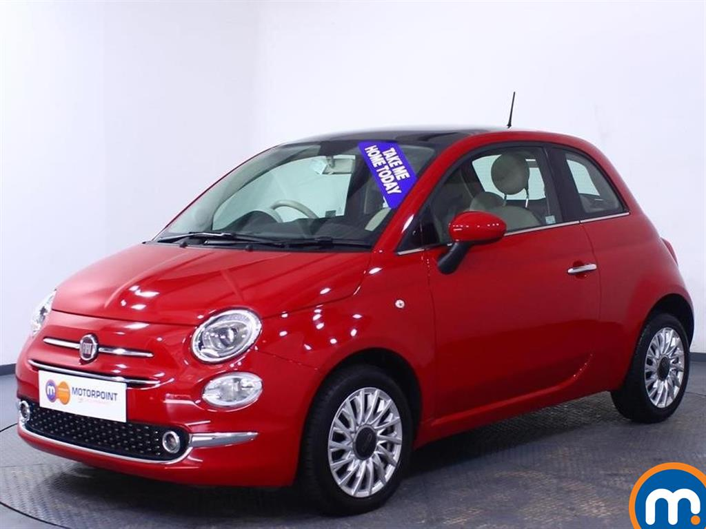 Fiat 500 Lounge - Stock Number 1050829 Passenger side front corner