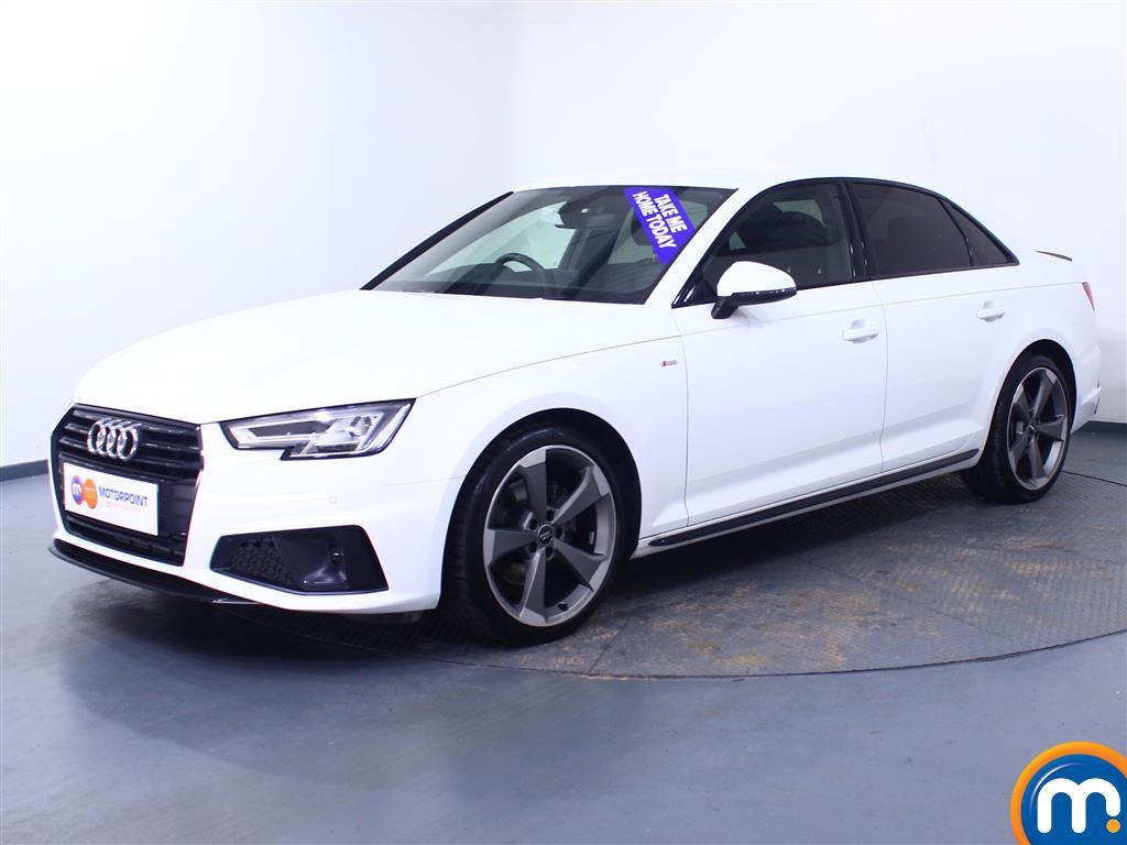 Audi A4 Black Edition - Stock Number 1051089 Passenger side front corner