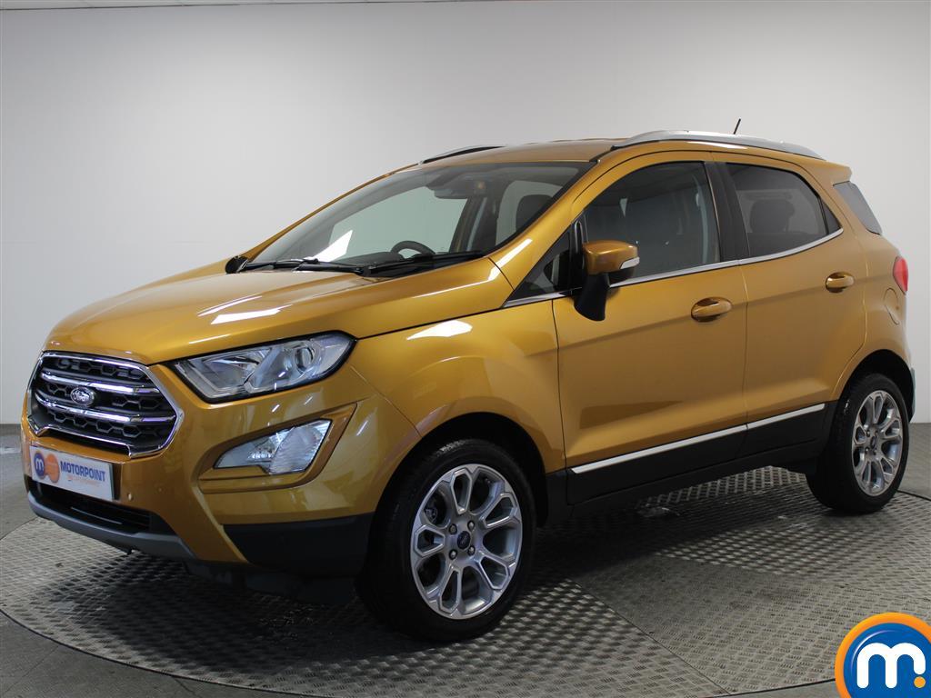 Ford Ecosport Titanium - Stock Number 1050896 Passenger side front corner