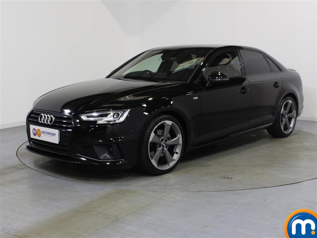 Audi A4 Black Edition - Stock Number 1048664 Passenger side front corner