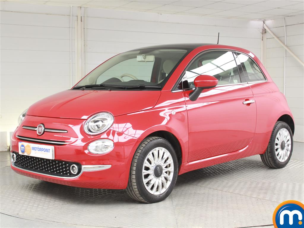 Fiat 500 Lounge - Stock Number 1050767 Passenger side front corner