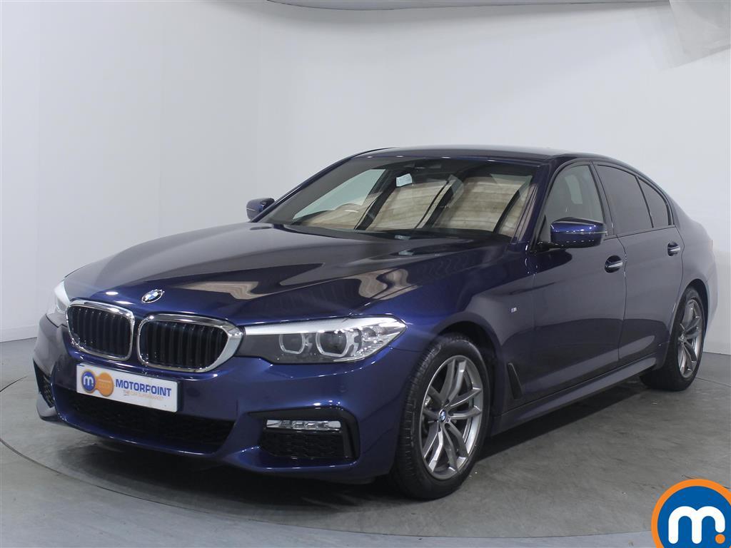 BMW 5 Series M Sport - Stock Number 1048937 Passenger side front corner