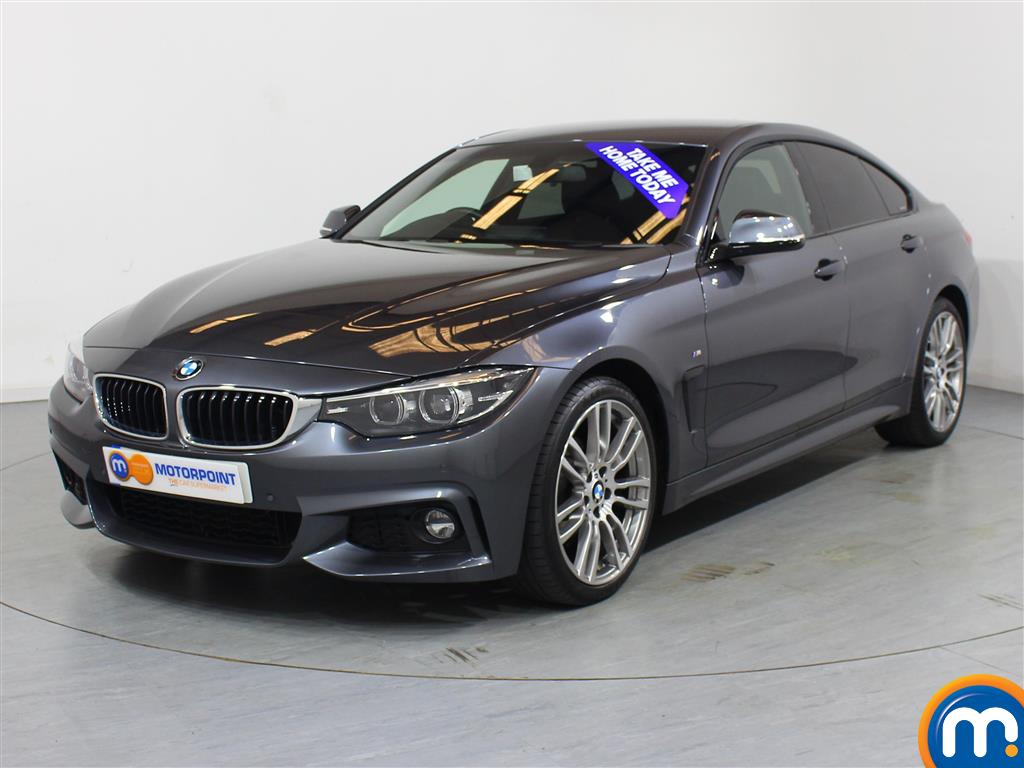 BMW 4 Series M Sport - Stock Number 1050090 Passenger side front corner