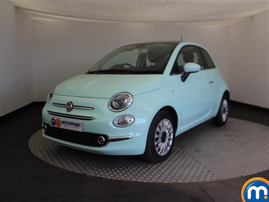 Fiat 500 Lounge - Stock Number 1050877 Passenger side front corner