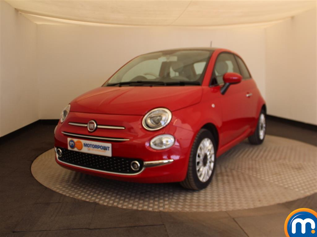 Fiat 500 Lounge - Stock Number 1050769 Passenger side front corner