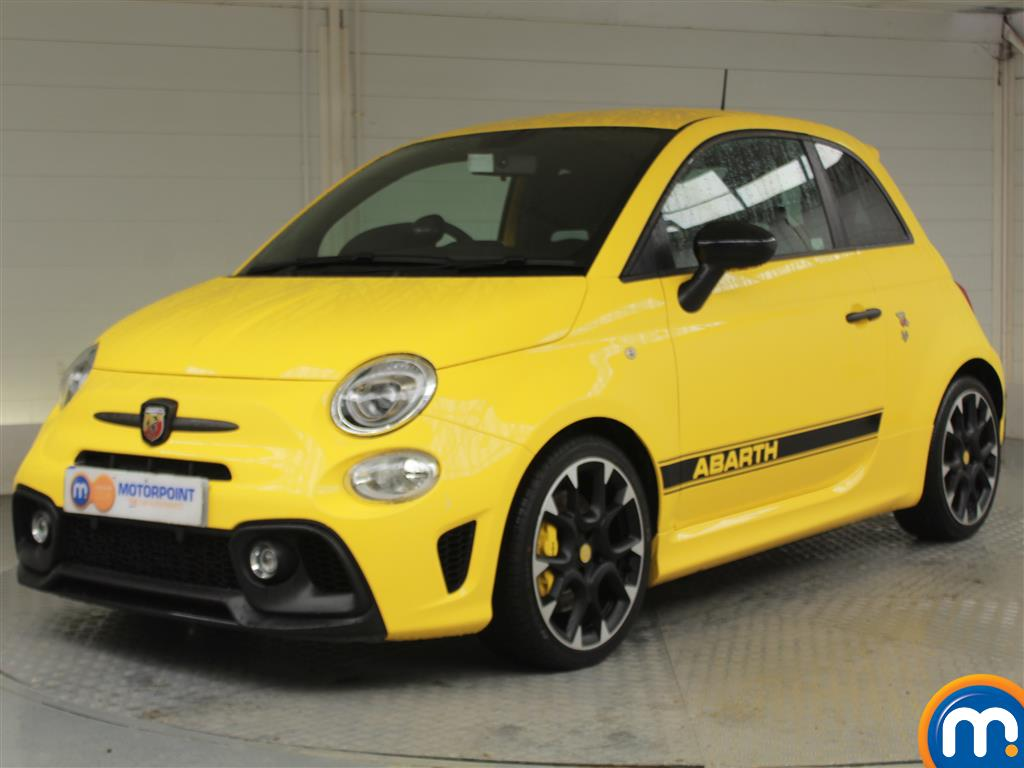 Abarth 595 Competizione - Stock Number 1050221 Passenger side front corner