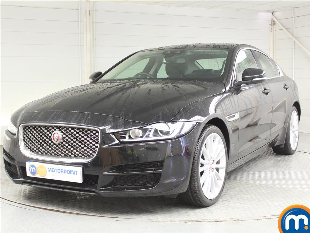 Jaguar XE Portfolio - Stock Number 1050900 Passenger side front corner