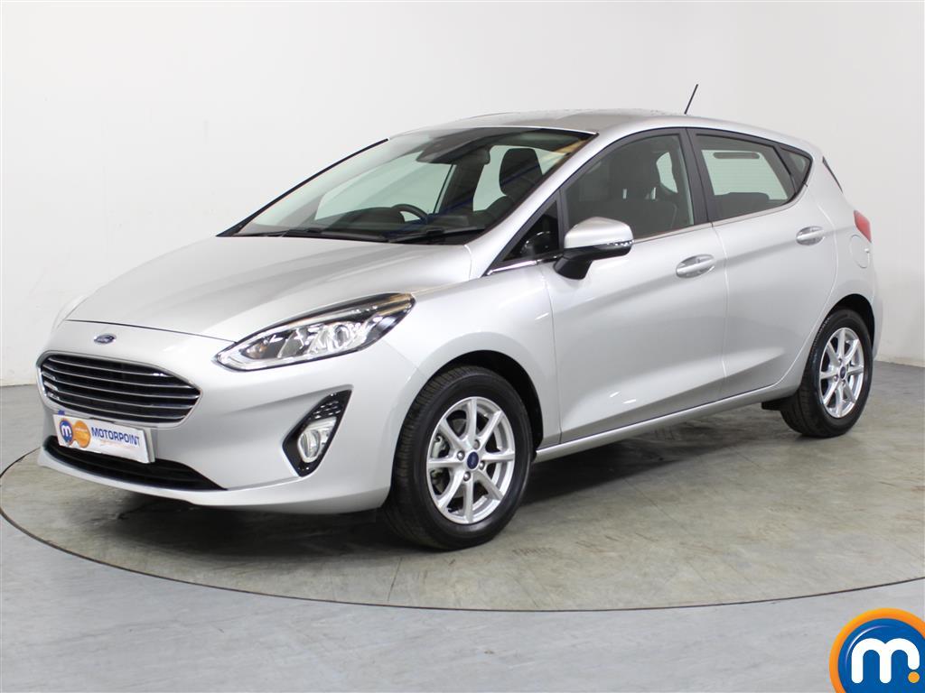 Ford Fiesta Zetec - Stock Number 1052598 Passenger side front corner