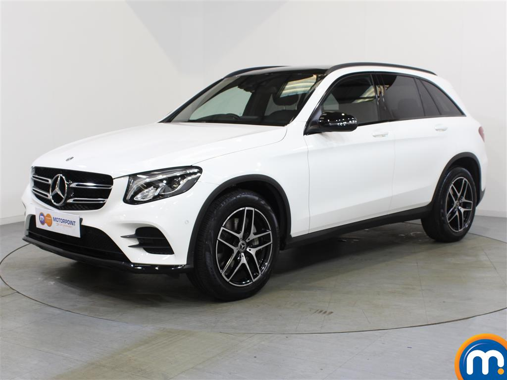 Mercedes-Benz GLC Night Edition - Stock Number 1048820 Passenger side front corner