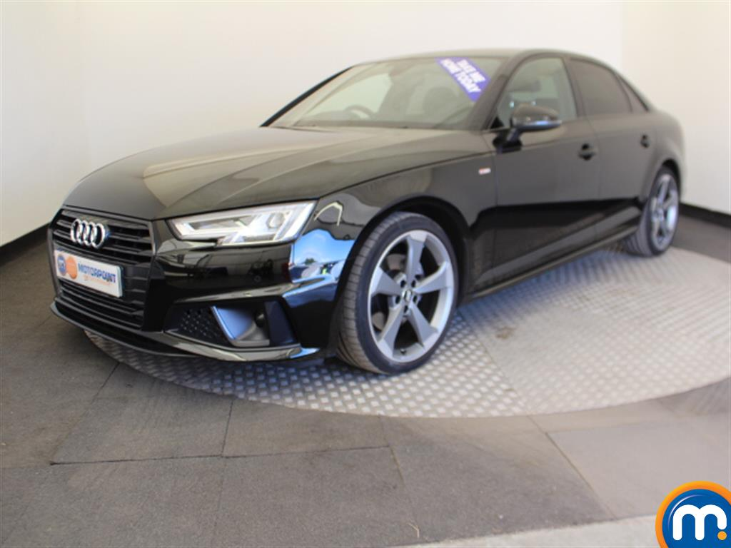 Audi A4 Black Edition - Stock Number 1048665 Passenger side front corner