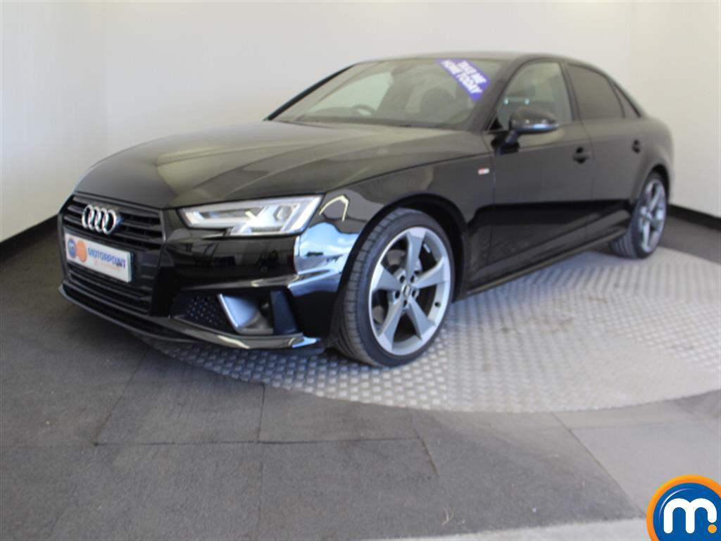 Audi A4 Black Edition - Stock Number 1051477 Passenger side front corner