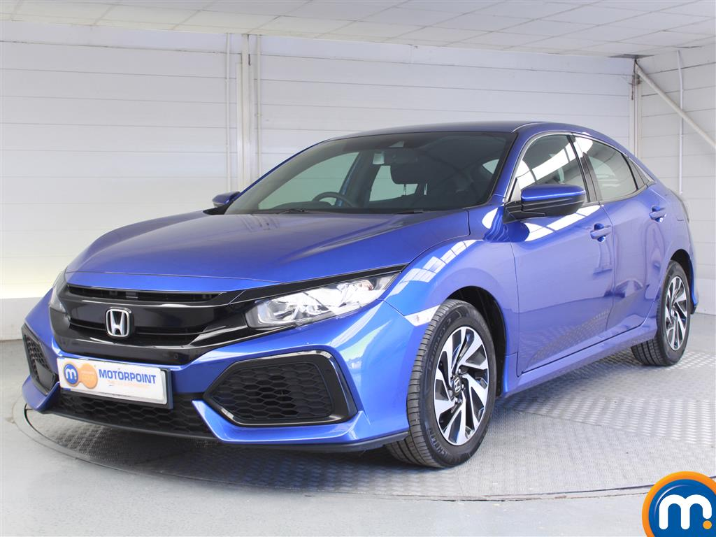 Honda Civic SE - Stock Number 1047512 Passenger side front corner