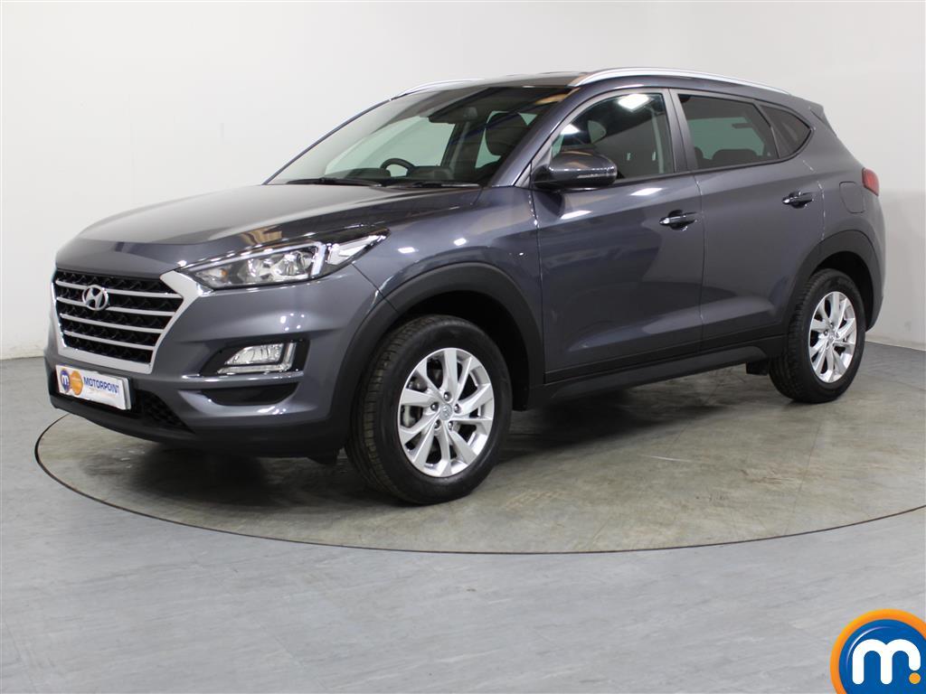 Hyundai Tucson SE Nav - Stock Number 1049620 Passenger side front corner