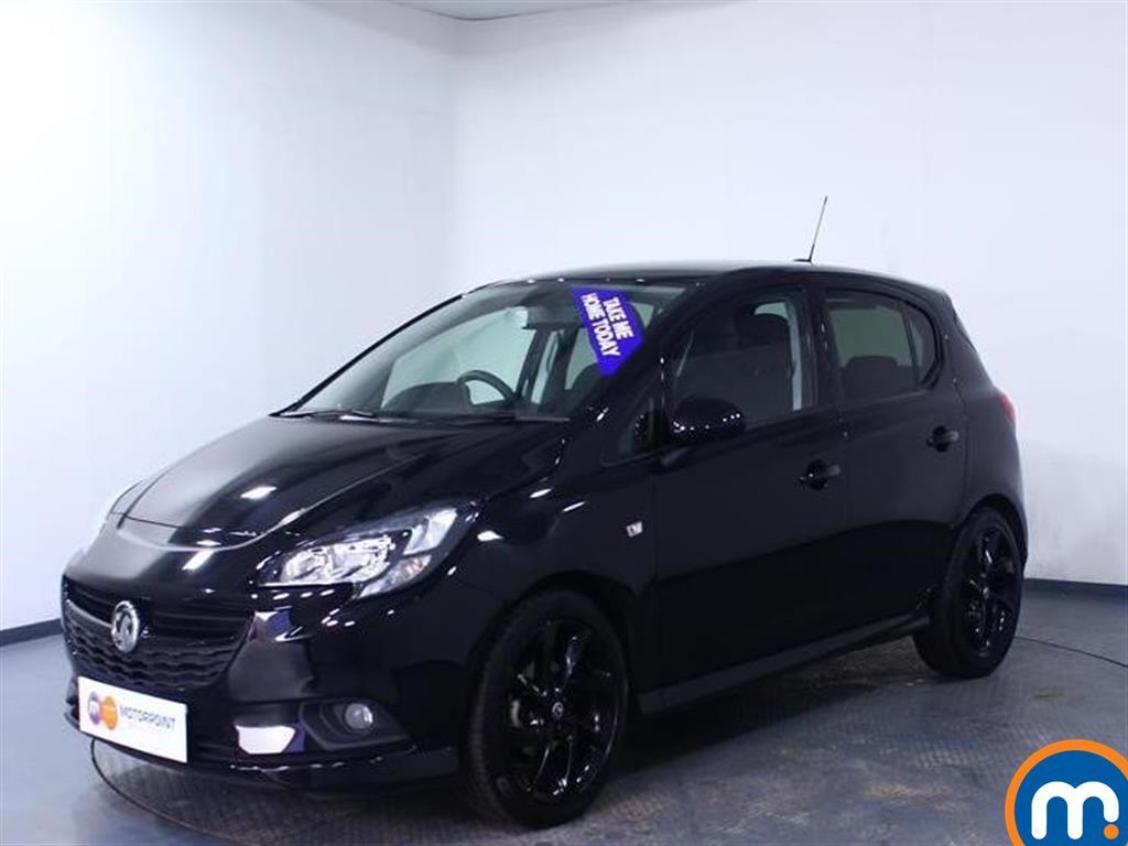 Vauxhall Corsa SRi Vx-line Nav Black - Stock Number 1051169 Passenger side front corner