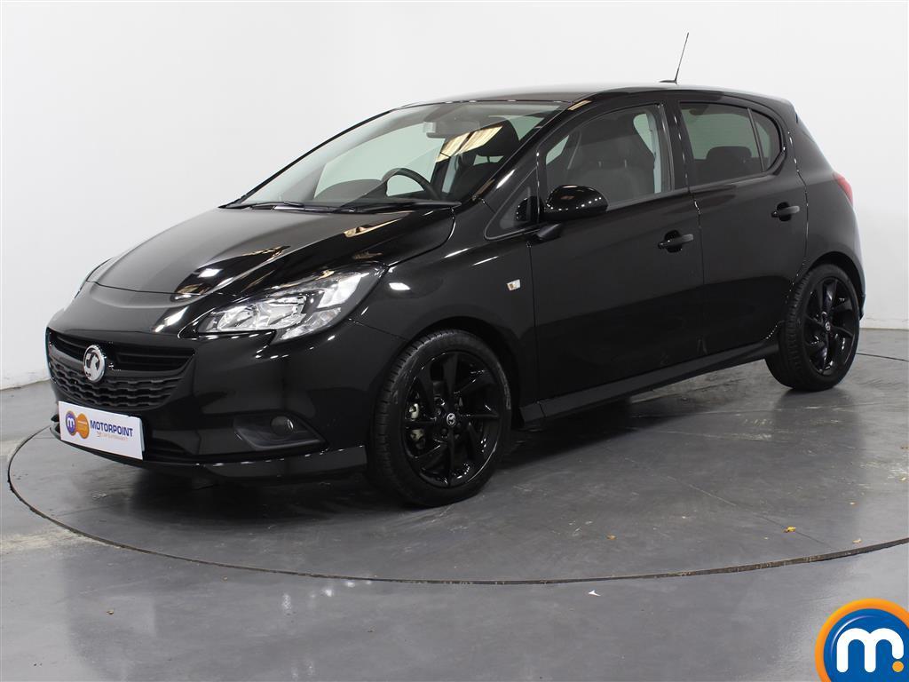 Vauxhall Corsa SRi Vx-line Nav Black - Stock Number 1051167 Passenger side front corner