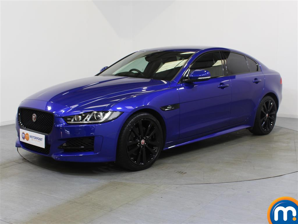 Jaguar XE R-Sport Black Edition - Stock Number 1049585 Passenger side front corner