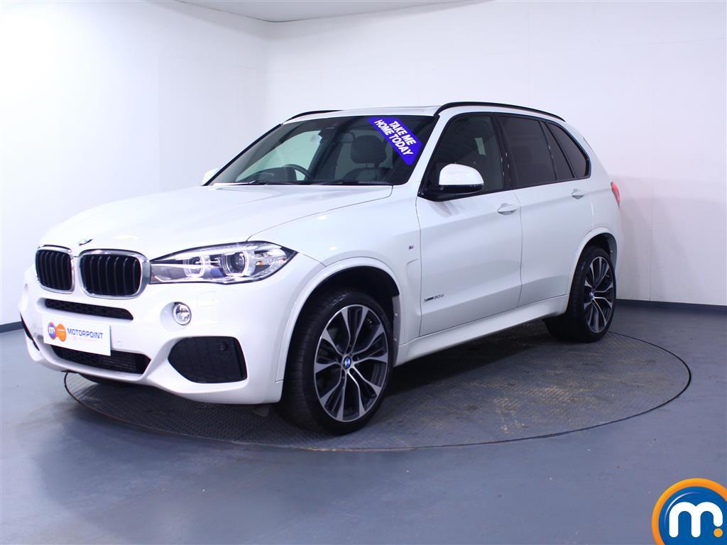 BMW X5 M Sport - Stock Number 1048828 Passenger side front corner