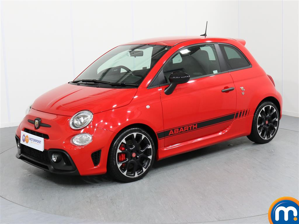 Abarth 595 Competizione - Stock Number 1050213 Passenger side front corner