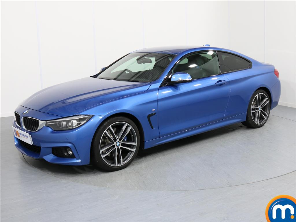 BMW 4 Series M Sport - Stock Number 1049313 Passenger side front corner