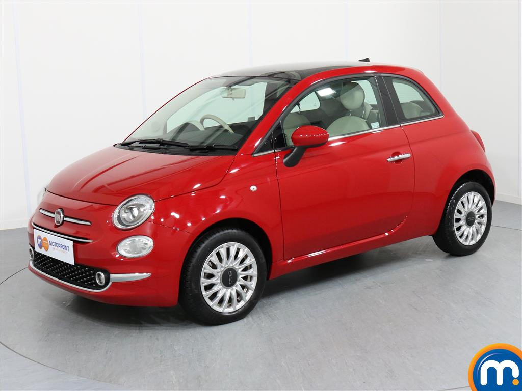 Fiat 500 Lounge - Stock Number 1050793 Passenger side front corner