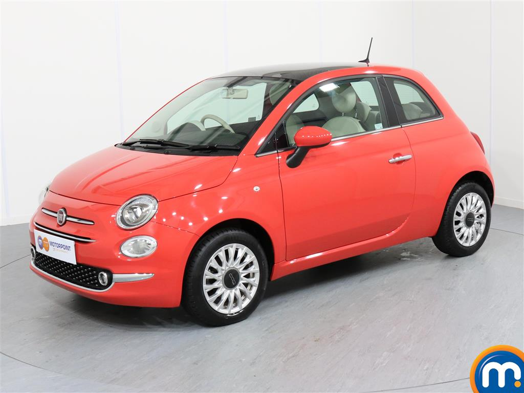 Fiat 500 Lounge - Stock Number 1050782 Passenger side front corner