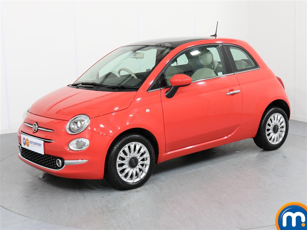 Fiat 500 Lounge - Stock Number 1050870 Passenger side front corner