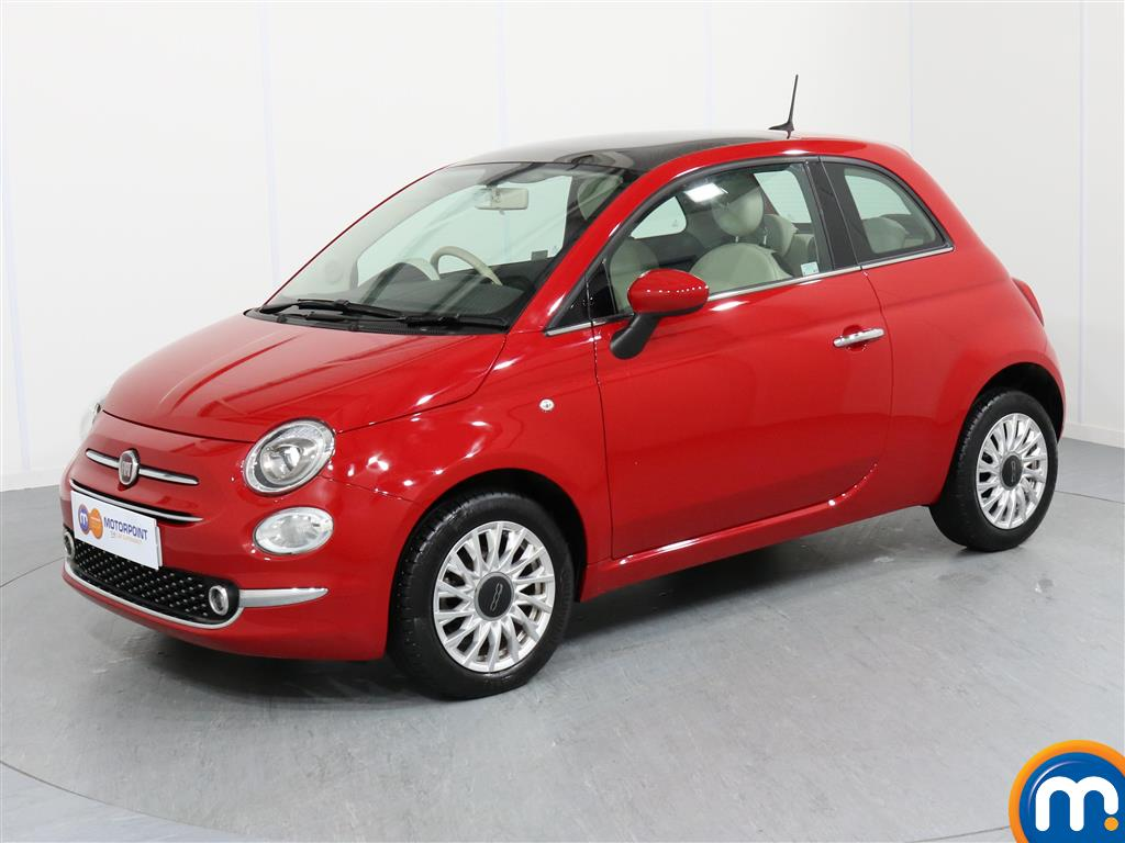 Fiat 500 Lounge - Stock Number 1050839 Passenger side front corner